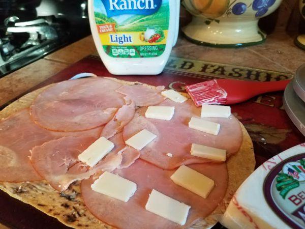 Tasty Tuesday: Monte Cristo Flatout Sandwich