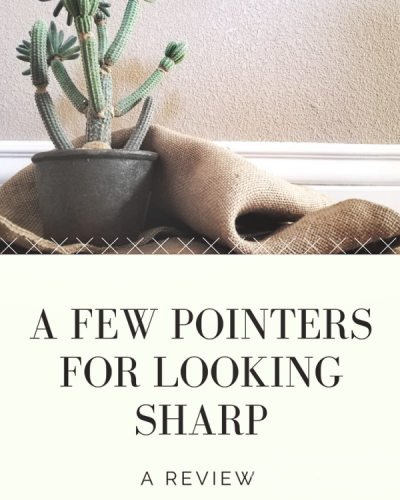 A Few Pointers for Looking Sharp: A Review