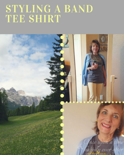 My Fashion Haus: Styling a Band Tee Shirt
