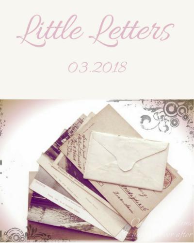 Little Letters, 03.2018