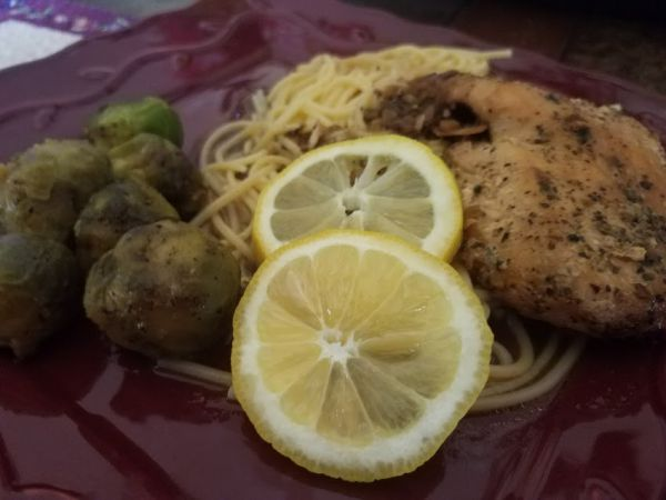 Tasty Tuesday:  Crock Pot Lemon Garlic Chicken