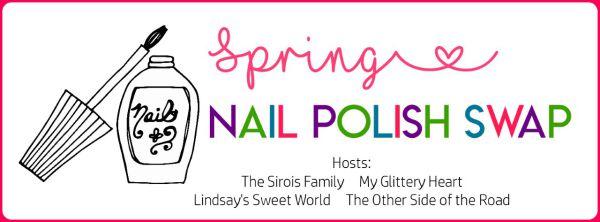 Spring Nail Polish Swap