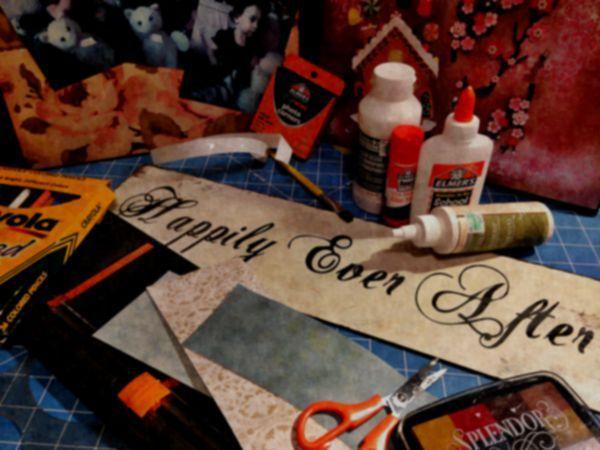 DIM, Did It Myself: Pinspired Bleeding Tissue Paper Project
