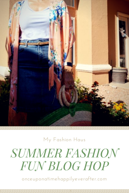 My Fashion Haus: Summer Fashion Fun Blog Hop