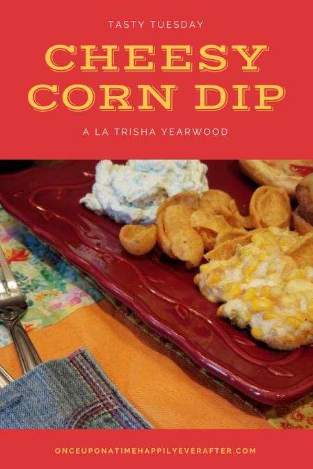 Tasty Tuesday: Pinspired Cheesy corn dip a la Trisha Yearwood