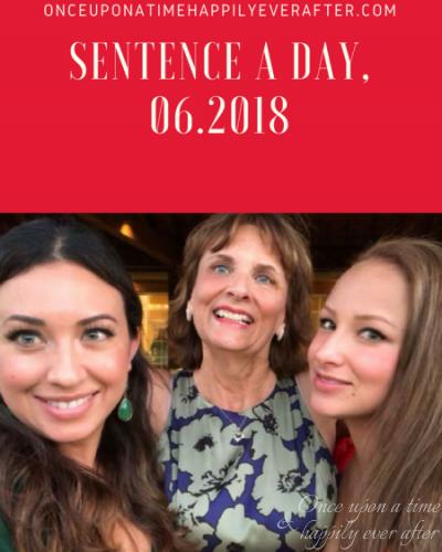 Sentence a Day, 06.2018