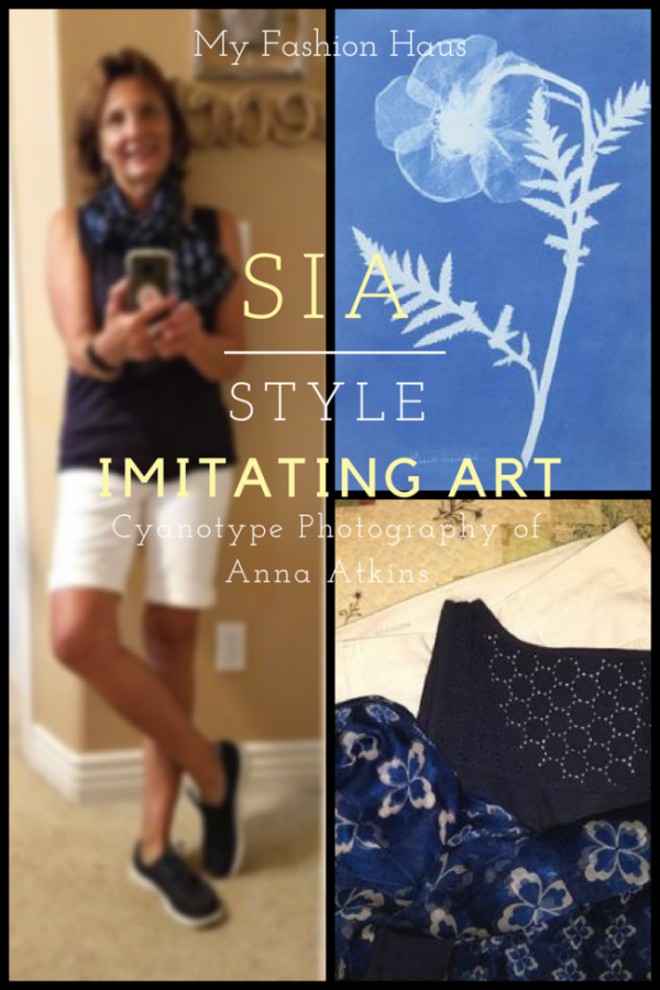 My Fashion Haus: Style Imitating Art, Anna Atkins Cyanotype Photographs