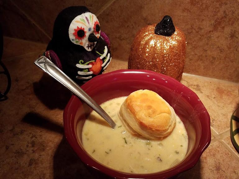 Tasty Tuesday: Pinspired Crock Pot Chicken Pot Pie Soup