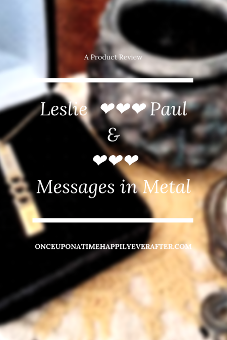 Leslie ❤❤❤ Paul & ❤❤❤ Messages in Metal