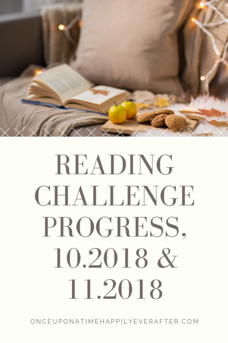 Reading Challenge Project, 10.2018 & 11.2018: A Double Feature
