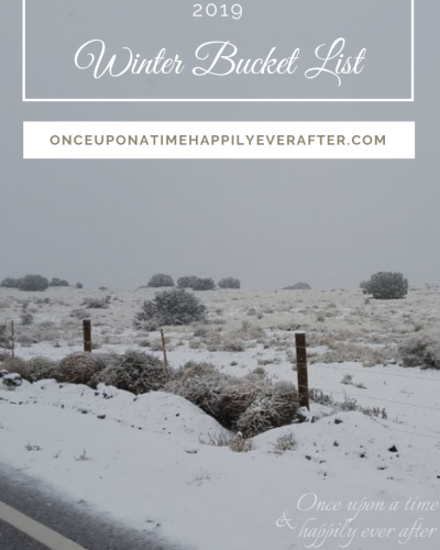 My 2019 Winter Bucket List