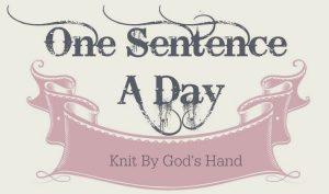 Sentence a Day, 12.2018