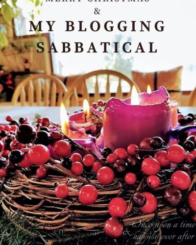 Merry Christmas & My Blogging Sabbatical