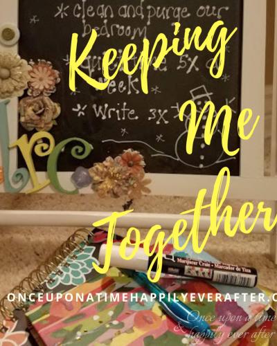 Keeping Me Together: A BIG Job