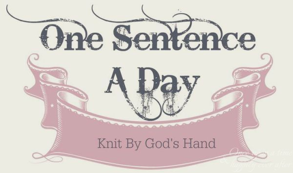 Sentence a Day, 01.2019