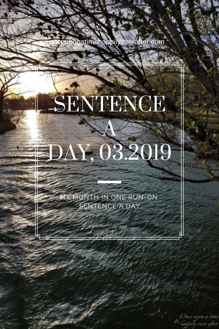 Sentence a Day, 03.2019