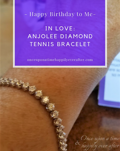 In Love: Anjolee Diamond Tennis Bracelet