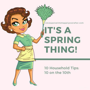 10 Household Tips: 10 on the 10th