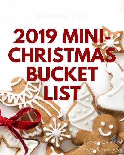 mini-Christmas bucket list