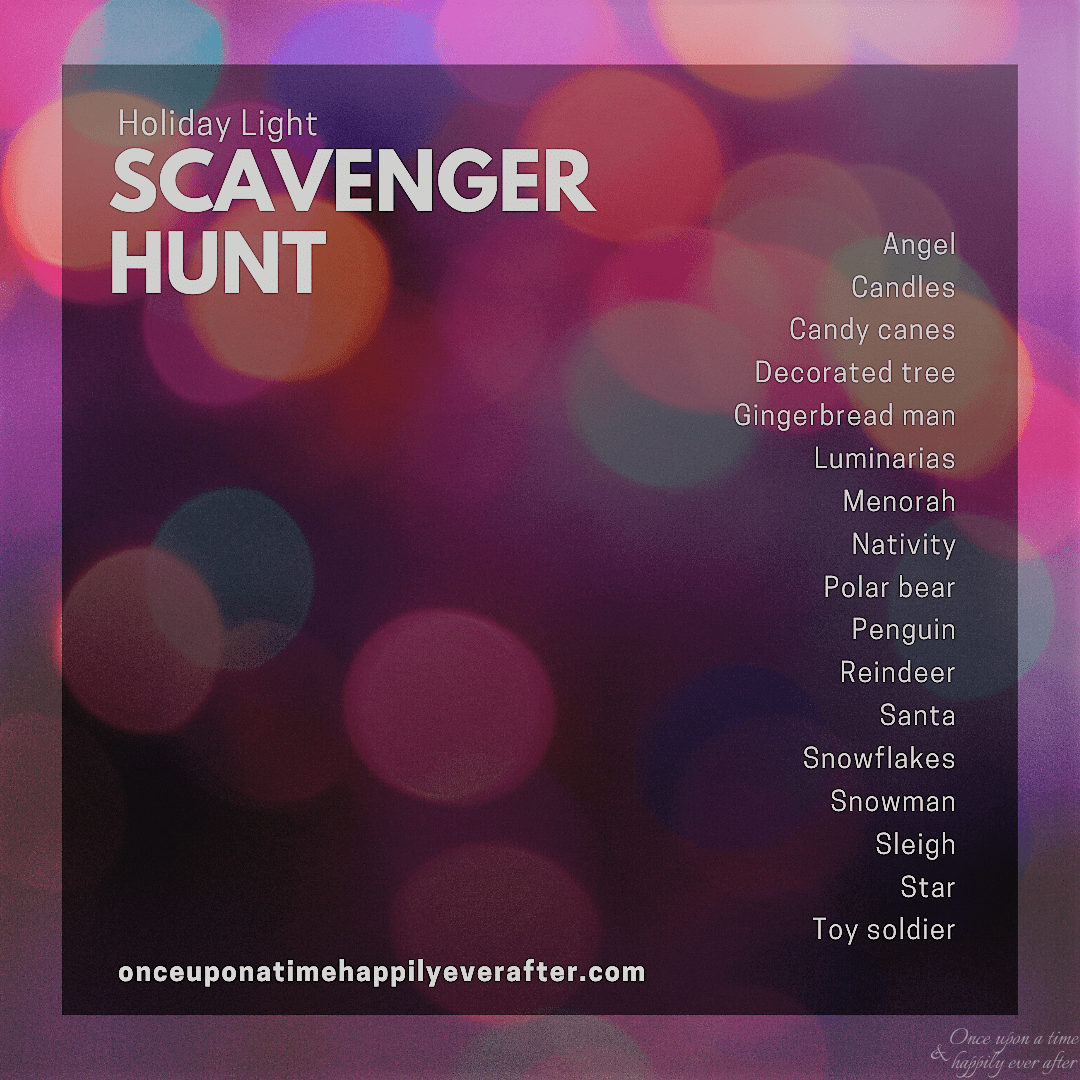 light scavenger hunt
